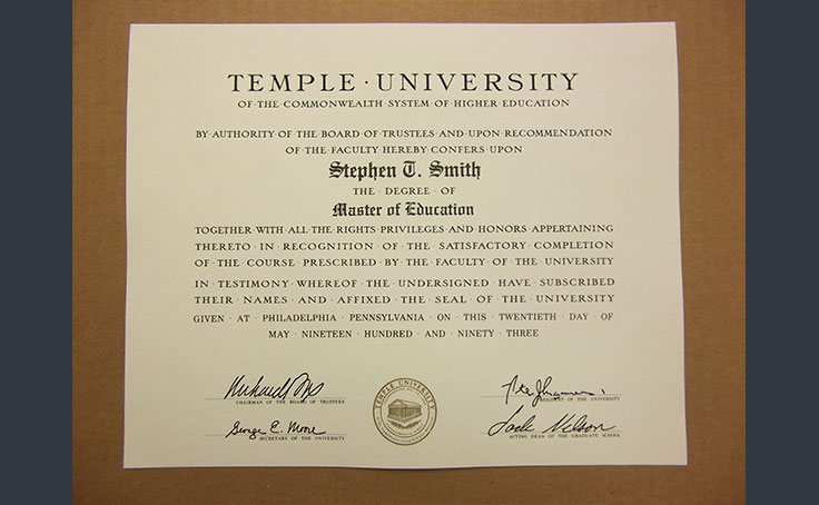 University / College Diploma  thumbnail