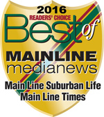 Best of Mainline Media News badge